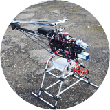 Power distribution and diagnostics system for uav